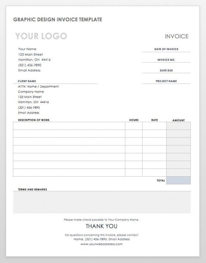 55 free invoice templates | smartsheet balance due invoice template