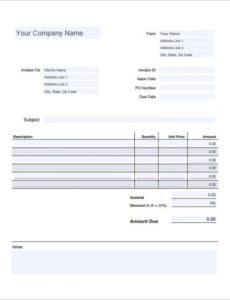 7+ estimate invoice templates – free word, pdf & excel documents invoice and estimate template