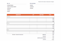 Contractor Invoice Template | Download & Use For Free Hardwood Flooring Invoice Template