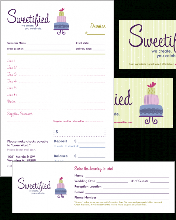 free invoice templates picture | cake business | pinterest | invoice cake order invoice template
