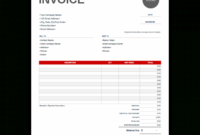 Invoice Template | Free And Fully Customizable Online Templates Handwritten Invoice Template