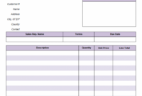 Invoice With Previous Balance (Sales) Balance Due Invoice Template