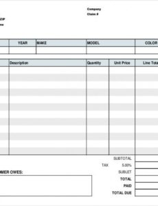 repair order template – 13+ free excel, pdf documents download tire shop invoice template