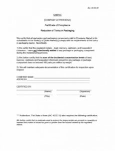 40 free certificate of conformance templates & forms ᐅ template lab certificate of compliance form template word blank