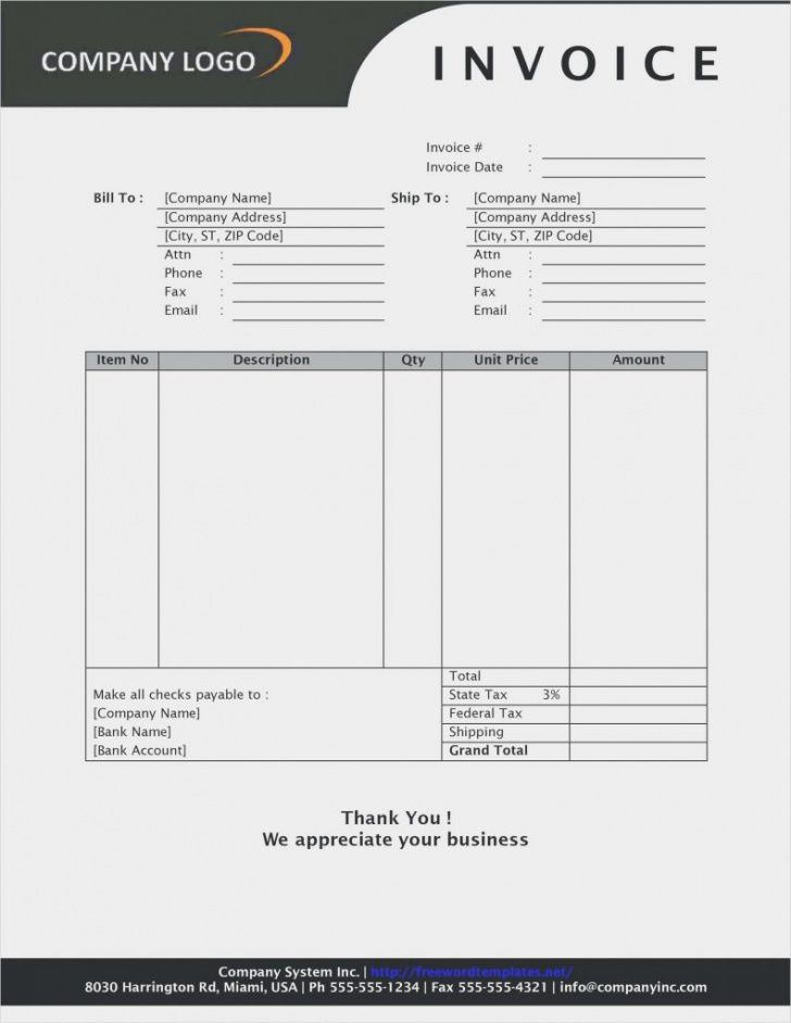 basic company invoice template word lg for free templates simple ltd company invoice template sample blank