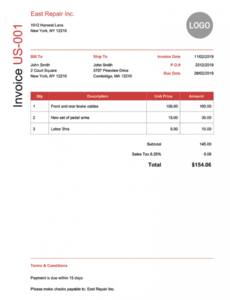 editable 100 free invoice templates | print & email as pdf | fast & secure collection invoice template word
