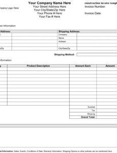 editable construction billing invoice template – guatemalago construction billing invoice template word blank