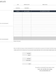 editable free excel invoice templates - smartsheet software development invoice template pdf blank