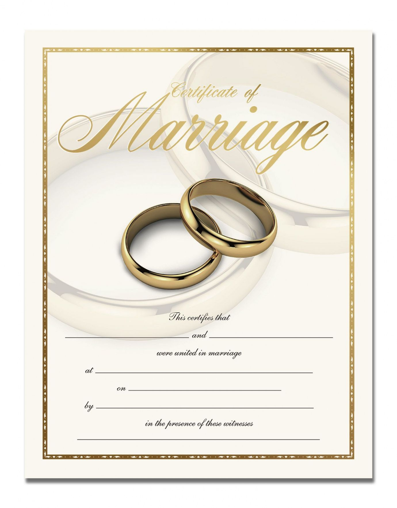 editable premium certificate of marriage in 2019 | the wedding ceremony- for renewal of marriage vows certificate template  blank