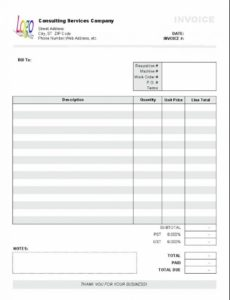 excel based consulting invoice template excel invoice manager freelance consultant invoice template pdf blank