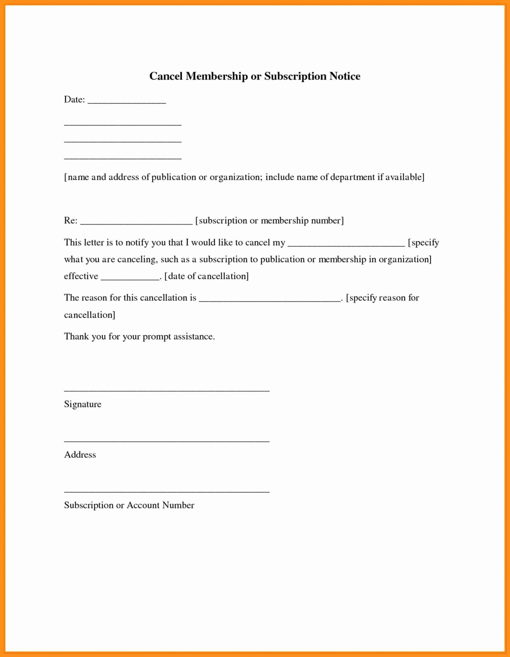 free cancel gym membership letter 4 – elsik blue cetane gym membership invoice template  blank