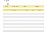 Free Construction Invoice Template Building Contractor Invoice Template Doc Blank
