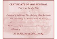 free free printable - vow renewal certificate | all things wedding | vow renewal of marriage vows certificate template sample