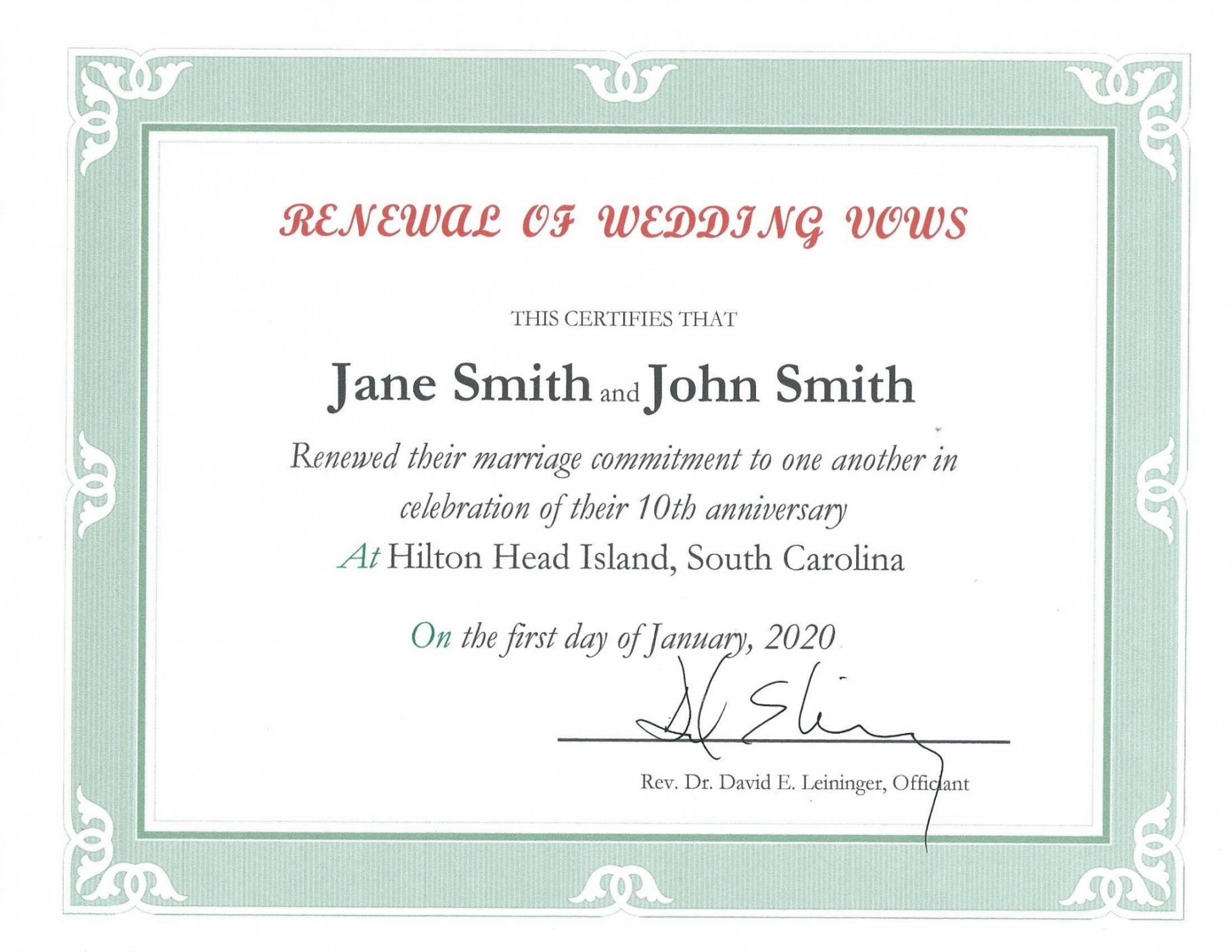 free free wedding vow renewal certificate printable birthday certificates renewal of marriage vows certificate template example