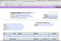 Free How To Make An Auto Repair Invoice | Excel | Pdf | Word – Youtube Car Mechanic Invoice Template