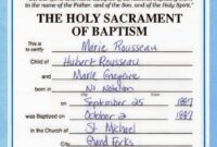 Free Roman Catholic Baptism Certificate Template Bizoptimizer Catholic Roman Catholic Baptism Certificate Template Sample