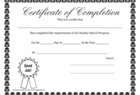free sunday school promotion day certificates | sunday school certificate sunday school graduation certificate template sample