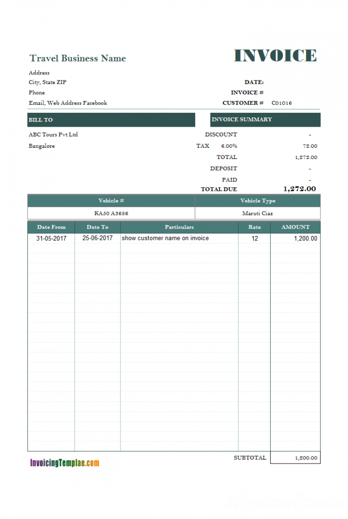 free word rent invoice template rent payment invoice template doc