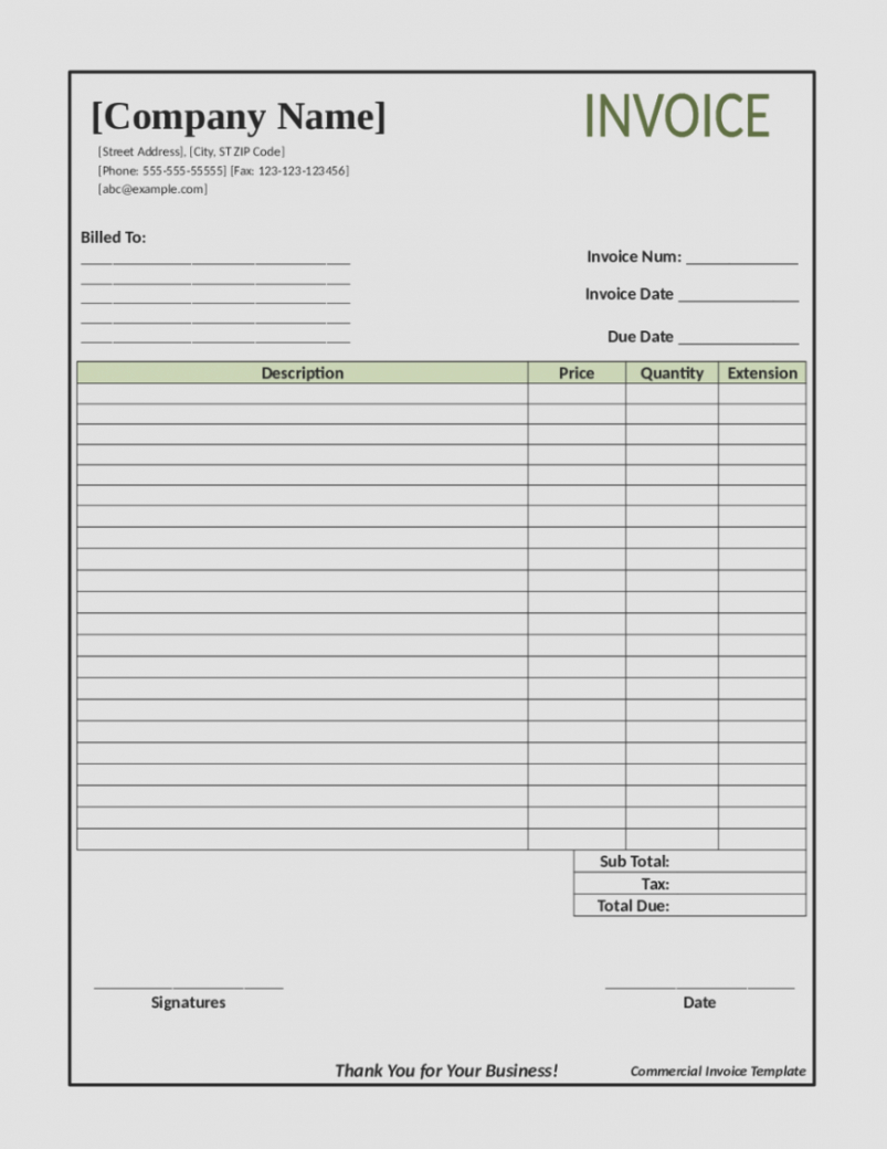invoice template for builders 7 construction billing format sweep7 construction billing invoice template doc