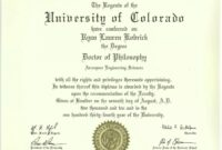 Phd Degree Template My Forth Degree, A Symbol Of   Degree   College College Diploma Certificate Template PDF
