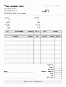 printable auto transport invoice template or download general sales invoice auto transport invoice template doc blank