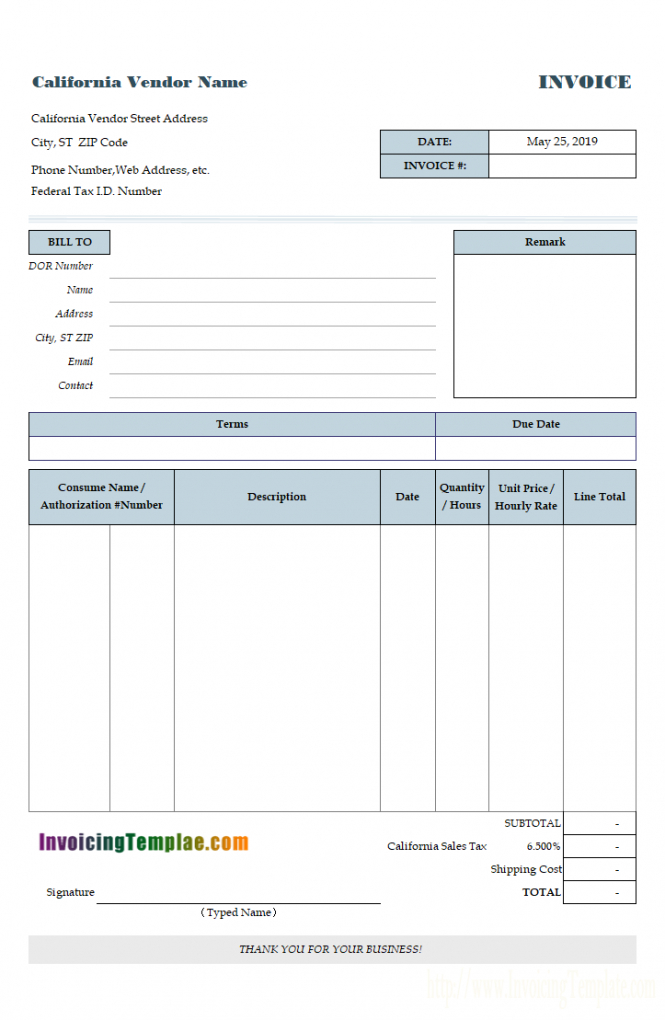 printable service invoice template painters invoice template
