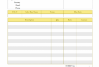 Printable Simple Billing Format For Contractor – Print Result | David Lopez Construction Billing Invoice Template