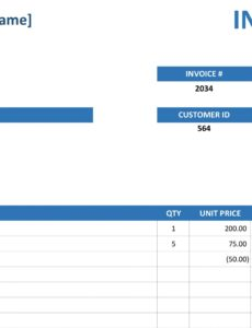 printable simple service invoice service order invoice template example