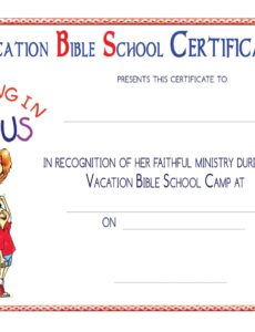 vbs certificate templatesencephalos | encephalos | church sunday school graduation certificate template pdf