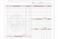 Editable Commercial Cleaning Invoice Template 3 – Fabulous-Florida-Keys Office Cleaning Invoice Template PDF