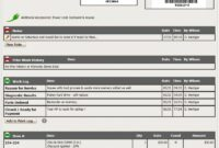 Editable Small Engine Repair Software & Repair Ticket / Worklog Solution Small Engine Repair Invoice Template Example Blank