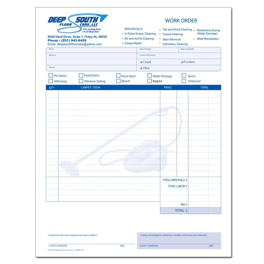printable cleaning service invoice | designsnprint office cleaning invoice template  blank