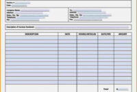 022 Freelance Writer Invoice Template Awesome Payslip Freelance Writing Invoice Template PDF