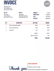 100 free invoice templates | print & email invoices cash invoice template pdf blank