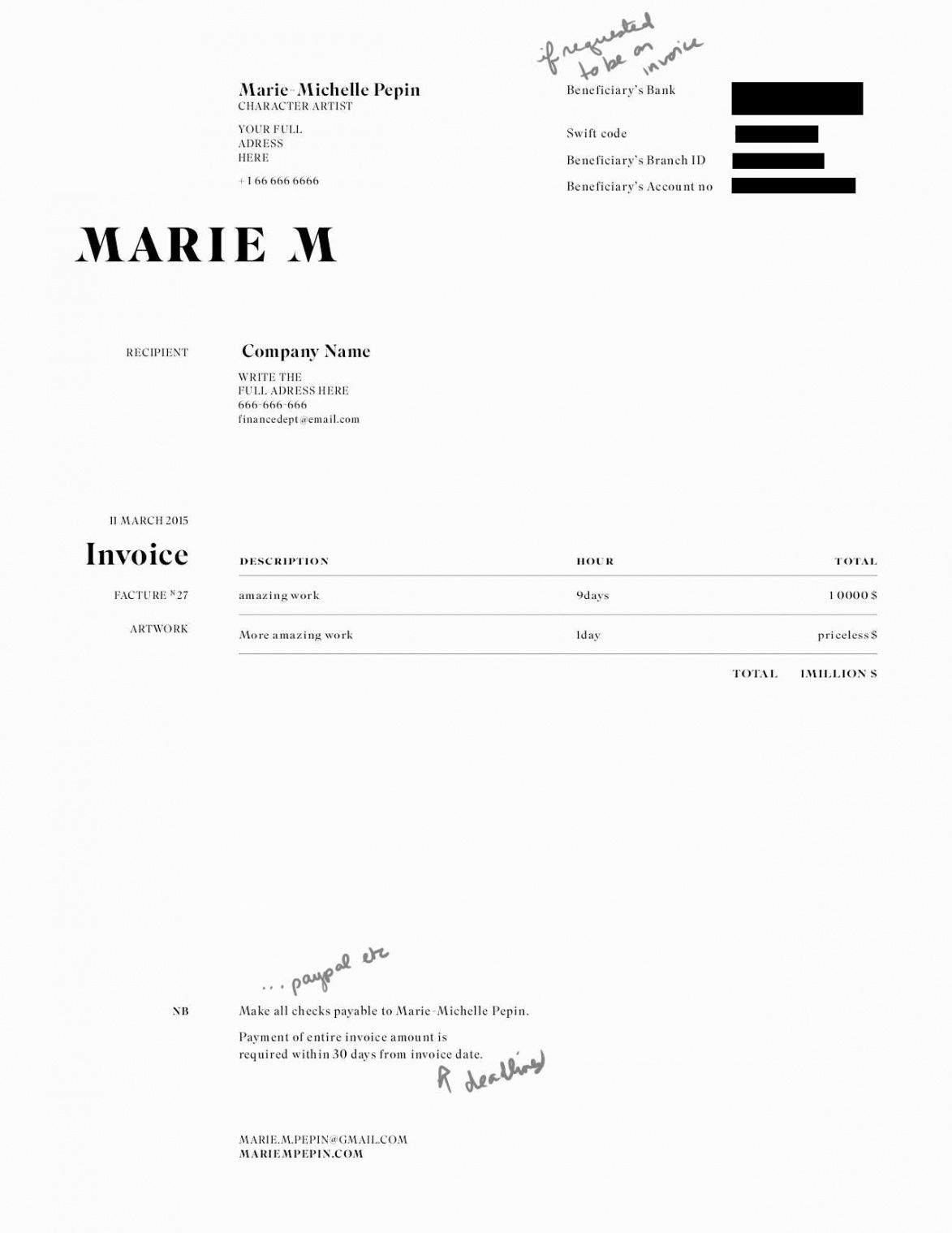 editable 019 freelance artist invoice new makeup template graphics makeup artist invoice template word