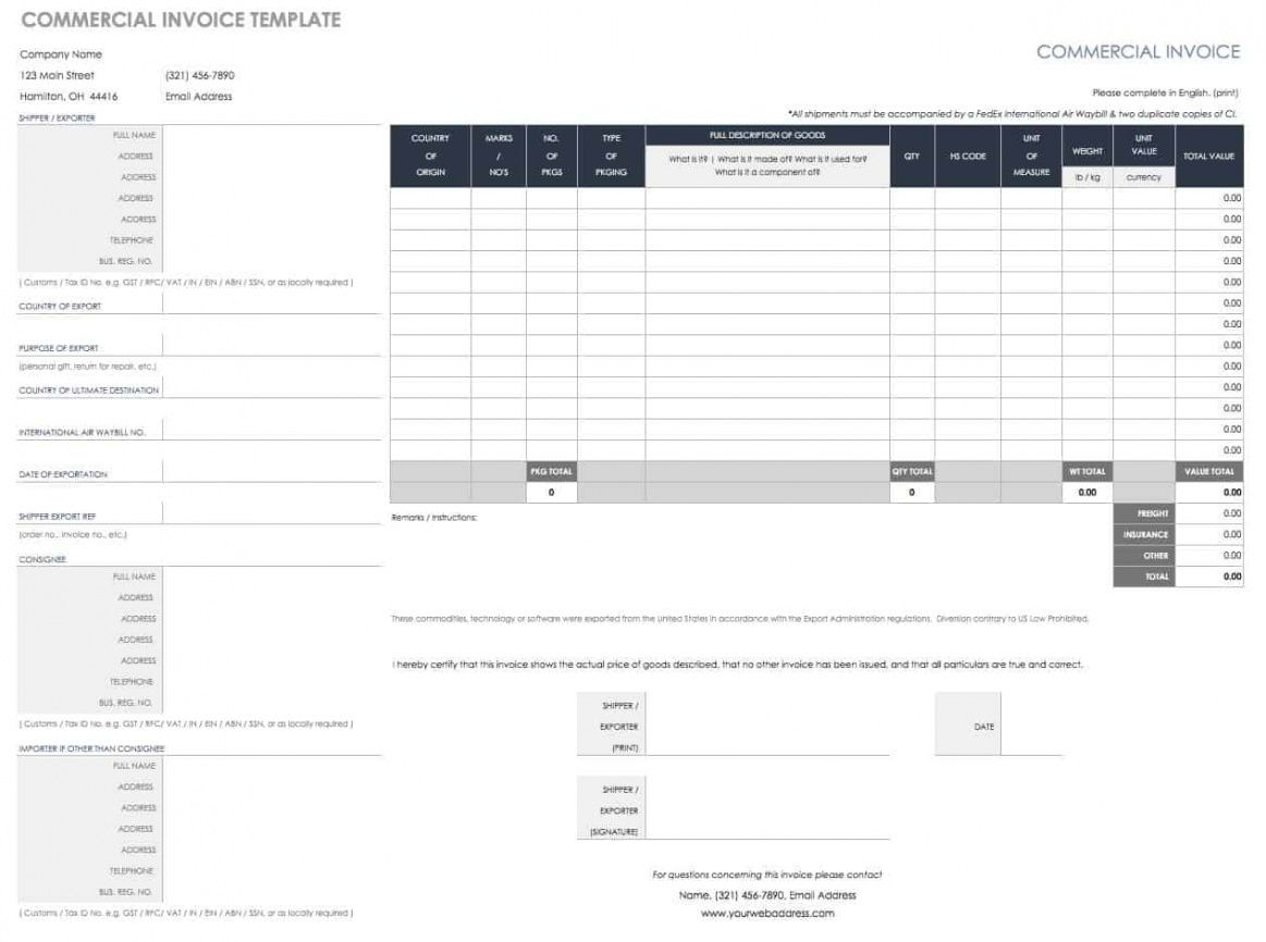 editable 55 free invoice templates | smartsheet video editor invoice template word