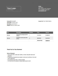 free the complete guide to freelance writer invoices - austin l freelance writing invoice template pdf blank