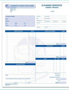 printable 037 breathtaking house cleaning invoice template free to house cleaning invoice template example blank