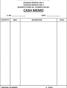 printable cash bill format submited images pic 2 fly | invoice format cash invoice template sample blank