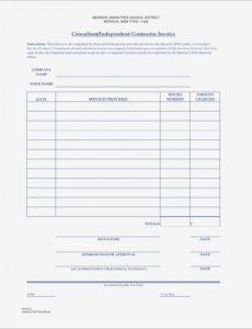 printable cis subcontractor invoice template uk - templates independent contractor invoice template sample