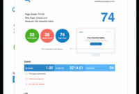 Printable Free Seo Audit Report Tool – White Label & Embed Options Seo Invoice Template Word Blank