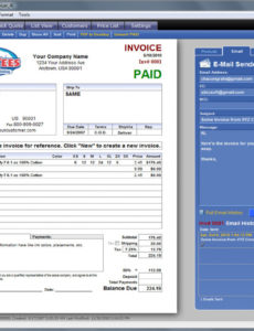 printable t-invoicer 4 - easy to use invoicing for screen printers and screen printing invoice template pdf