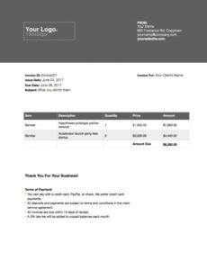 the complete guide to freelance writer invoices - austin l freelance writer invoice template pdf