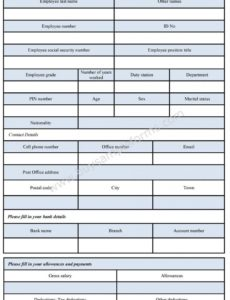 editable payroll employee form  employee payroll format employee payroll advance template excel