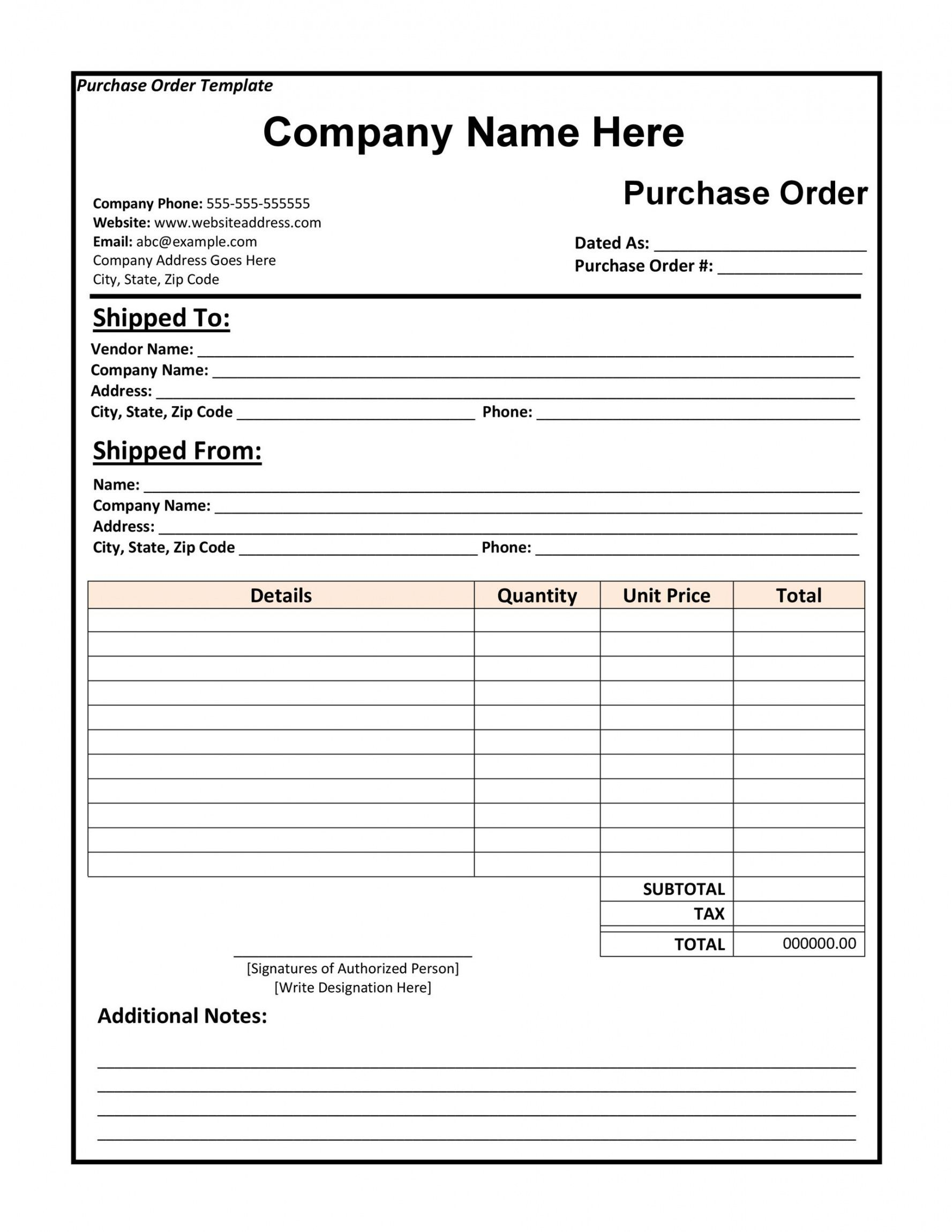 free 43 free purchase order templates in word excel pdf pay stub request form template doc
