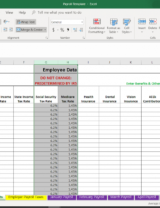 free how to do payroll in excel in 7 steps  free template small business payroll template