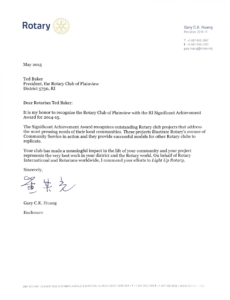 club recognition archive  rotary club of plainview rotary club resignation letter pdf