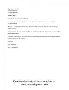 editable 3 highly professional two weeks notice letter templates resignation letter due to disability sample