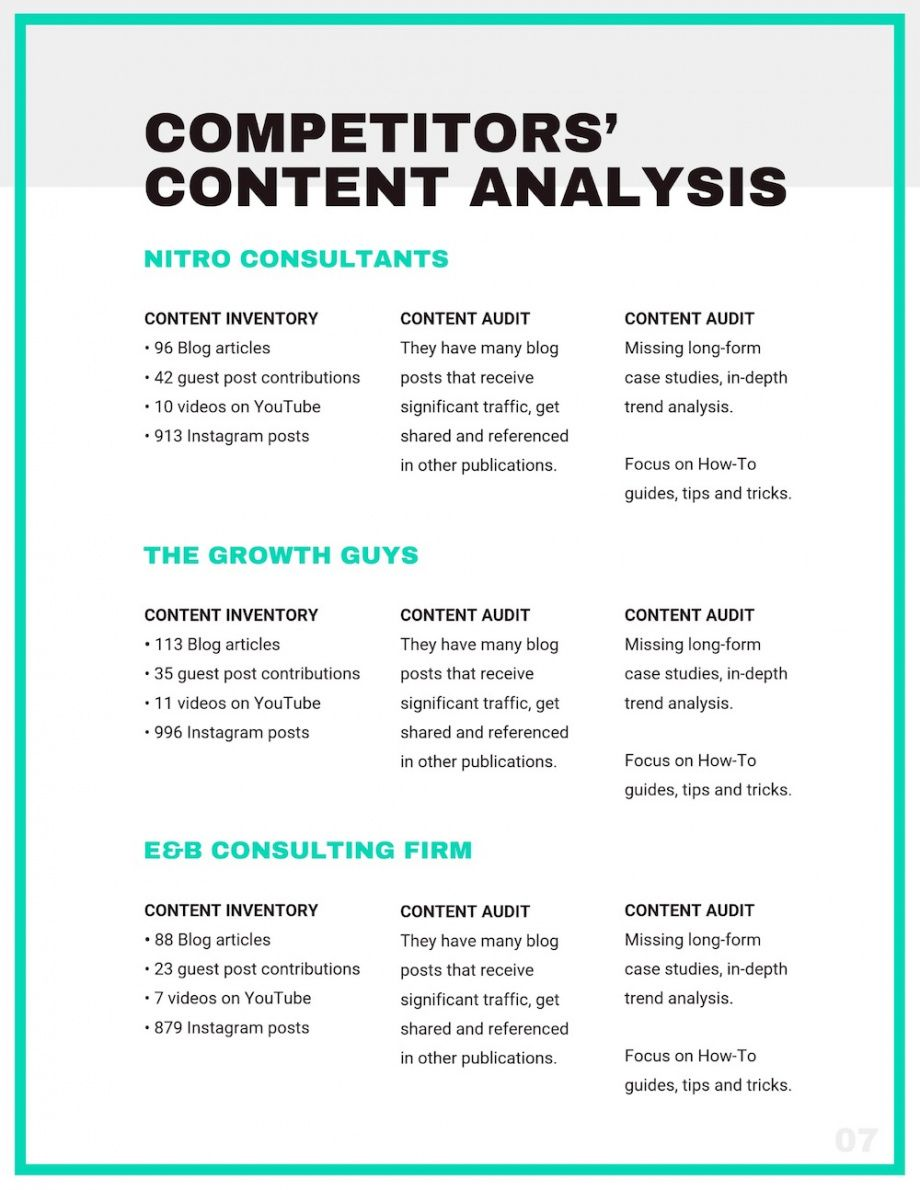 editable what is a marketing plan and how to make one?  venngage consultant marketing plan template pdf