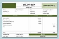 editable wps template  free download writer presentation salary payment slip template